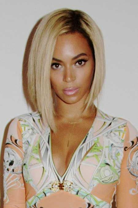 Beyonce had the world going crazy when she rocked this platinum blonde  quick weave bob. So many women of different skin ... 5c708b03bf