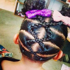 twisted updos for little black girls