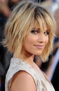 how to style short hair