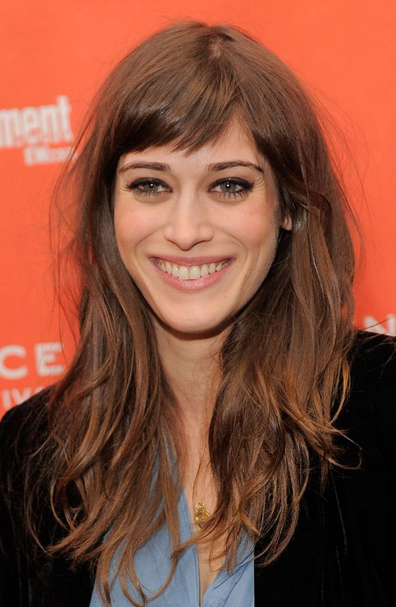 Bangs length hair with medium Sway