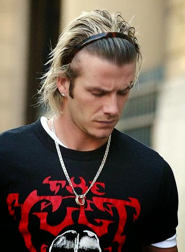 mens hair band styles david beckham hair inspiration david beckham changing looks 8433