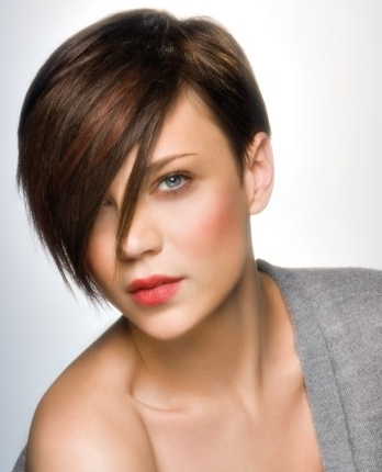 short haircut with long bangs hairstyles and haircuts guide 2090 | Short Hair with Long Side Bangs