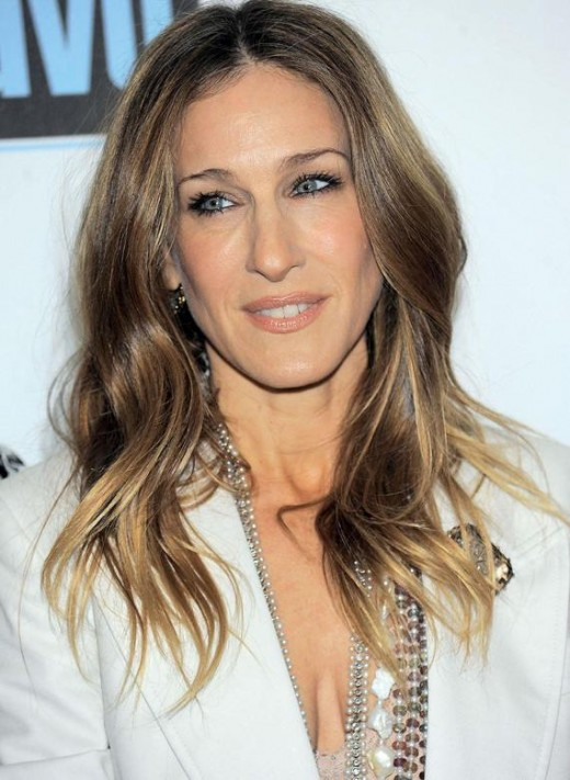 Why We Love This Light Brown Hair Color: Sarah Jessica Parker Totally Hits  It Out Of The Park With This Light Ash Brown Hair Color!