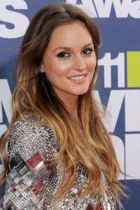 Light brown hair with ombre