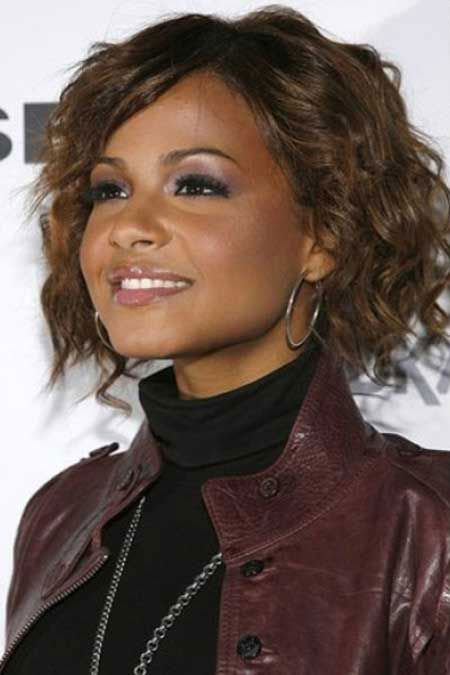 Light Brown Curly Hair On Dark Skin