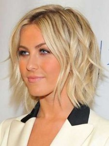 short hairstyles for blondes
