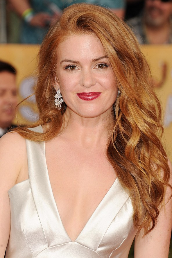 Isla Fisher: Light Red Hair Color