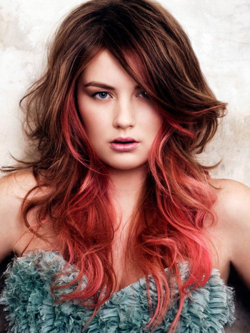 Brilliant ombre hair color ideas looks ombre hair guide although the traditional colors used in ombre are brunette and blonde hues red ombre hair is a trendy twist on the style that makes a gorgeous statement solutioingenieria Choice Image
