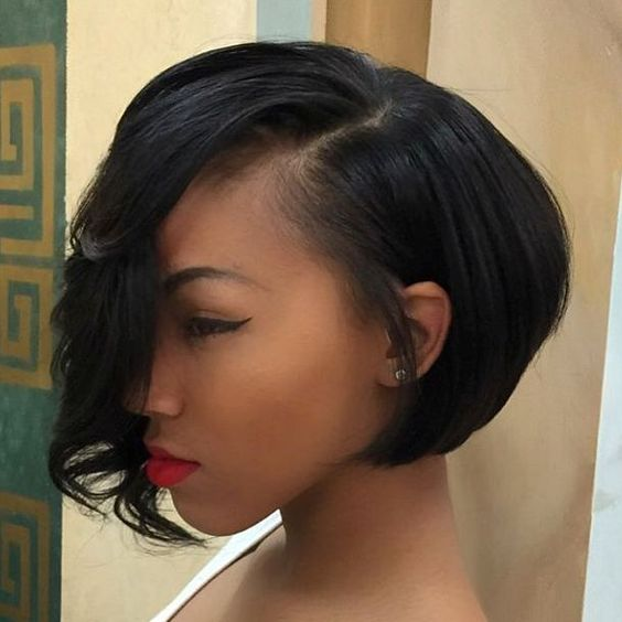 asymmetrical haircuts hair 50 stylish hairstyles for black part 2 5363