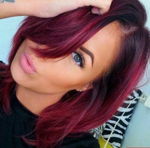 20 Burgundy Hair Colors And Styles