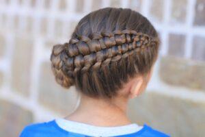 cute braids for long hair