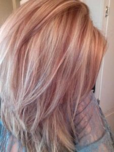 red blonde hair color