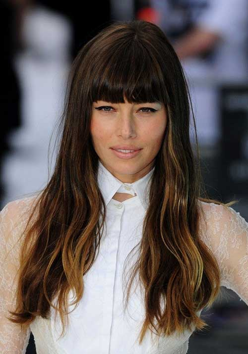 25 Beautiful Long Hairstyles With Bangs For Inspiration