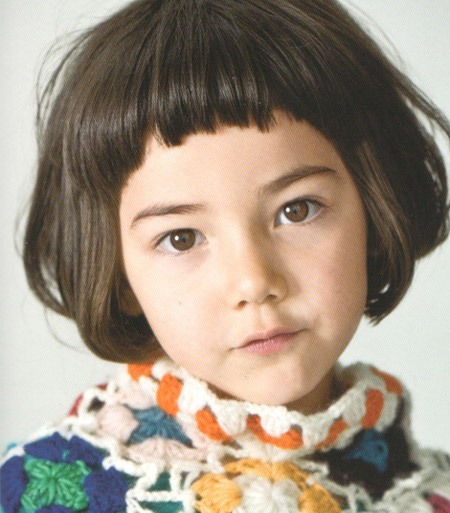 We Just Love This Short Little Girls Hairstyle These Ultra Bangs Are Both Trendy And Practical Theyll Keep Hair Out Of Their Faces
