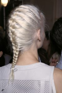 how to do two french braids