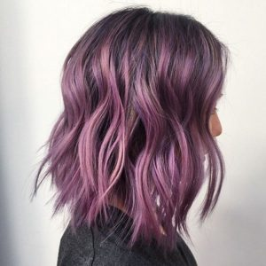 dark purple hair dye