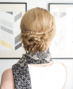 Fishtail Braid Chignon