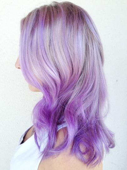 30 Lavender Hair And Purple Hair Styles Part 6