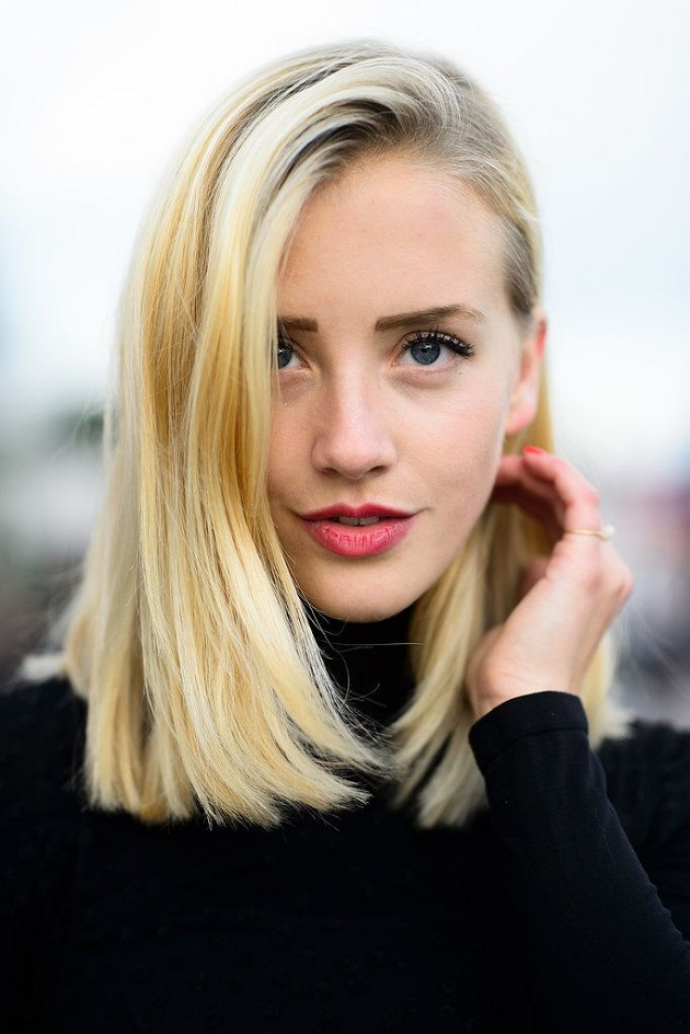 8blunt Long Bob With Bangs For Thin Hair