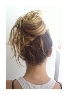 Top 25 Messy Bun Hairstyles | Unique and Easy Messy Buns