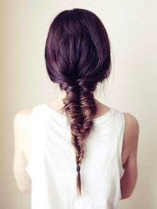 Messy Varied Strand Fishtail