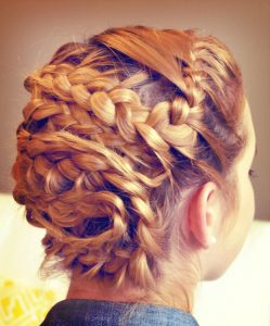how to do a french braid on yourself