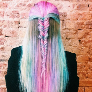 Rainbow Pastel Fishtail