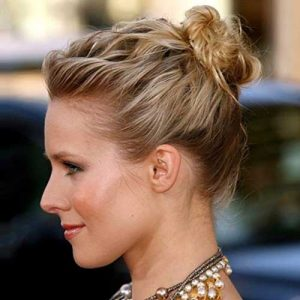how to messy bun