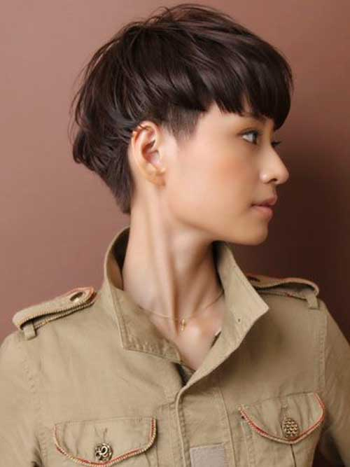 Undercut Hairstyle Asian Girl