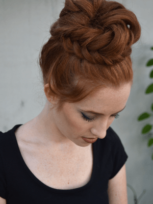 Fishtail Topknot