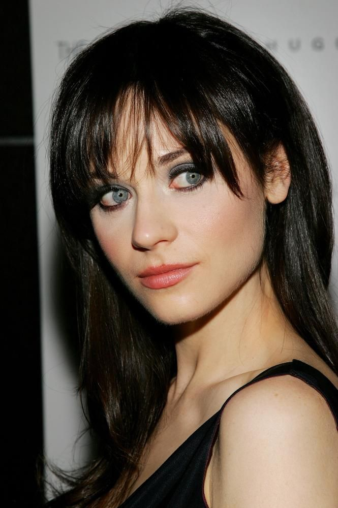 What Is Zooey Deschanel S Natural Hair Color