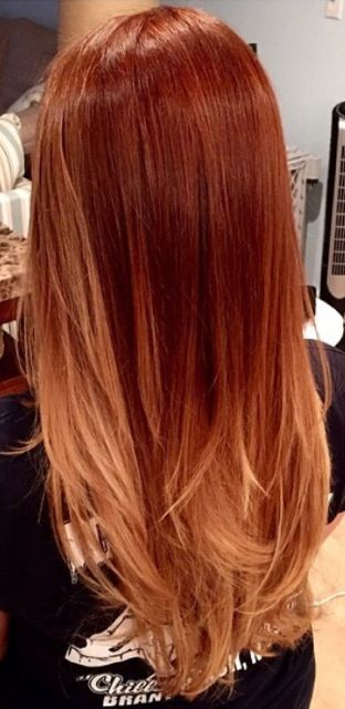 New Hair Color Techniques: 30 Gorgeous Copper Hair Color Ideas