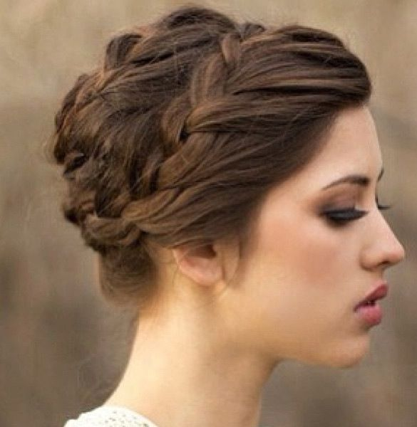 hair up braid styles 30 stunning bridesmaid hairstyles part 28 8519
