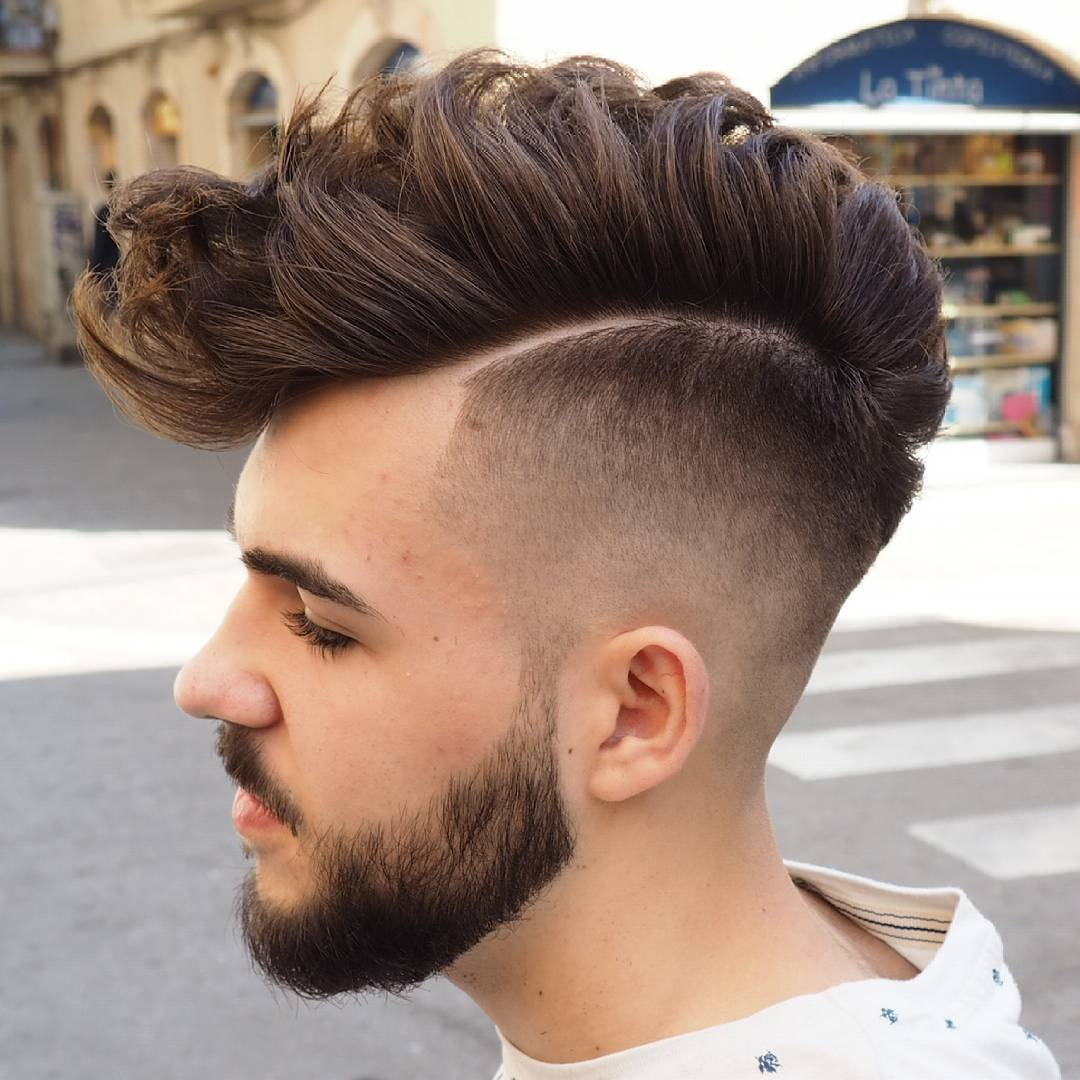 Top 30 Mohawk Fade Hairstyles For Men