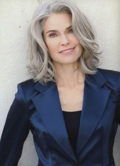 Grey Hair Styles Pictures Enchanting 30 Stylish Gray Hair Styles For Short And Long Hair