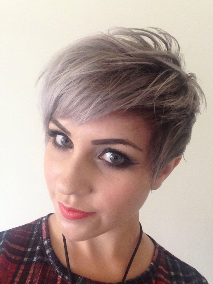 1smoky Grey Pixie