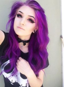 electric violet waves