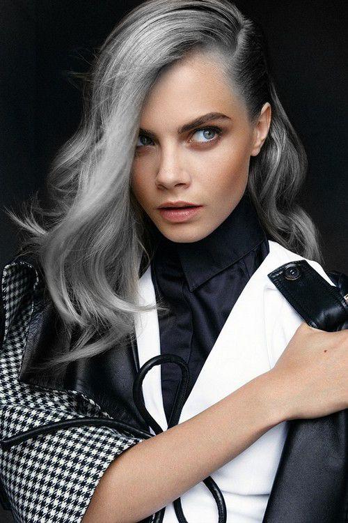 Silver Hair Dye 30 Gorgeous Silver Hair Dye Looks