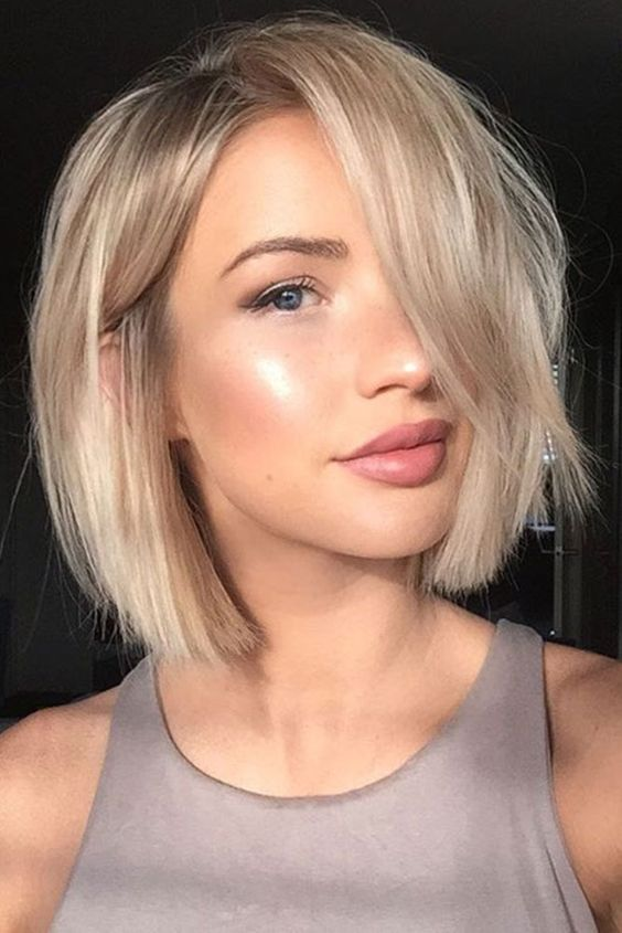 If You Want Your Fine Hair To Look Pumped Up And Voluminous For A Bob Haircut That Creates Shape Without Sacrificing Large Amounts Of