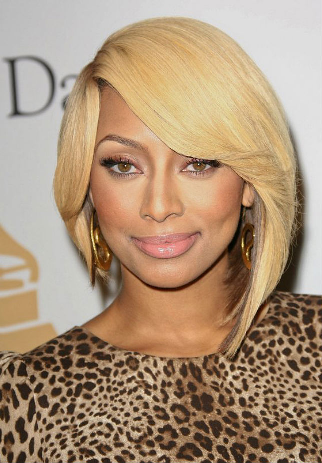 Keri hilson short blonde hairstyles