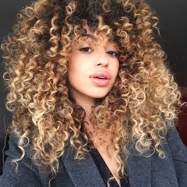 Make Relaxed Hair Look Naturally Curly