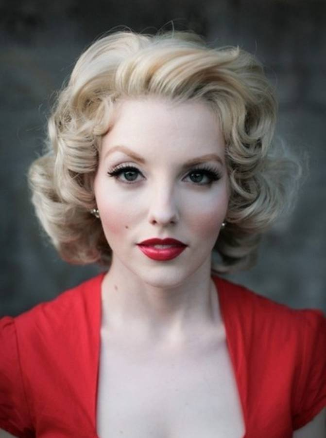 50 s style hair fabulous 50s hairstyles you d totally wear today 1292 | Marilyn Curls