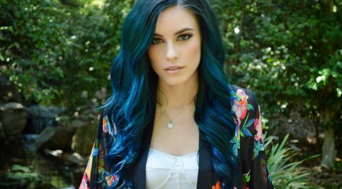 black blue hair