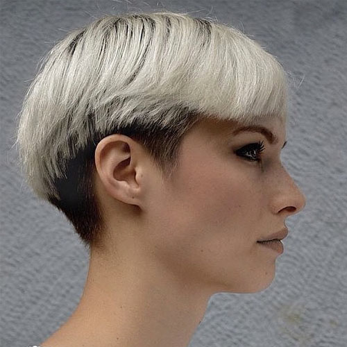 undercut styles hair 30 platinum hair color shades and styles 4351