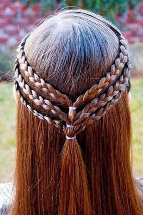 6triple Braided Headband For S