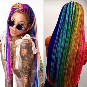 rainbow spectrum braids