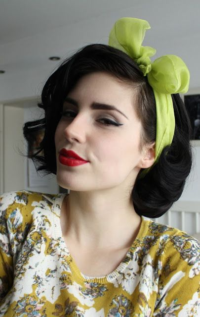 hair scarf styles the best 30 pin up hairstyles for glamorous retro 1734