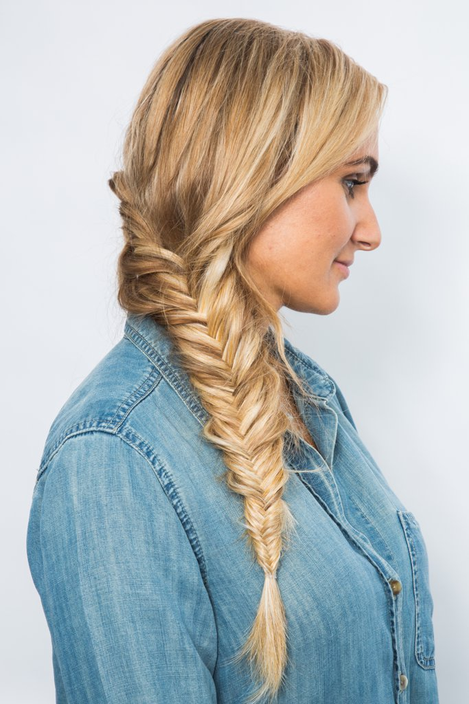 40 different types of braids for hairstyle junkies and gurus for Fish tail hair