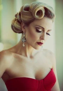 Sophisticated Rolled Updo