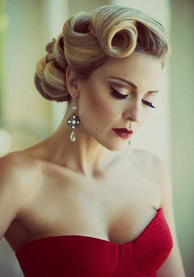 sophisticated hair up styles the best 30 pin up hairstyles for glamorous retro 7105